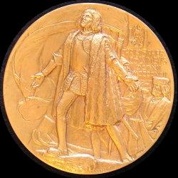 1893年美國哥倫比亞世界博覽會品質最高獎