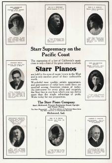 各著名音樂家對斯塔爾鋼琴的音色、手感、表現力贊不絕口