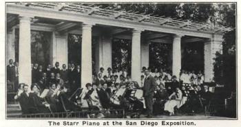 聖地亞哥博覽會上的斯塔爾鋼琴